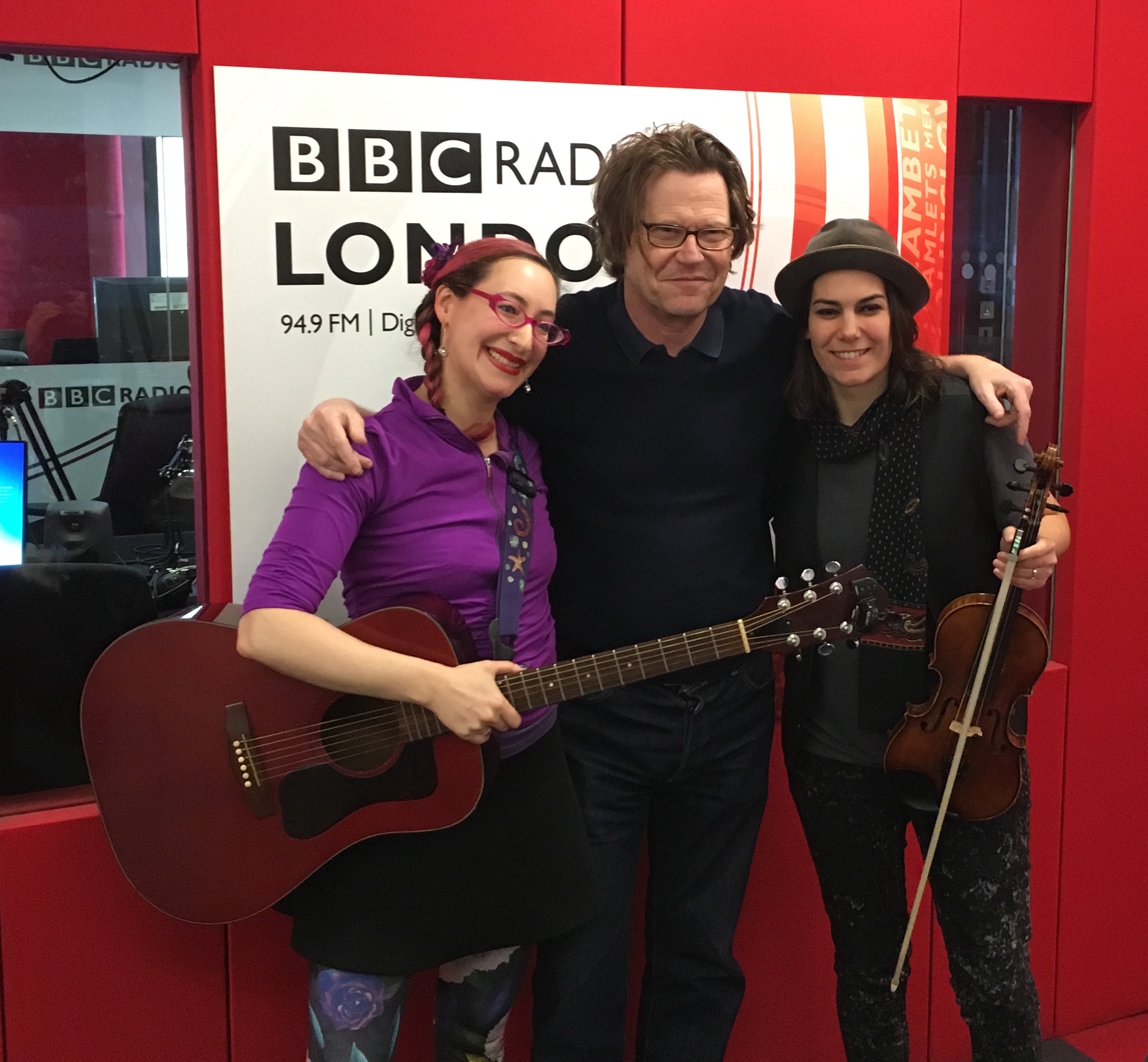 with Robert Elms at BBC London