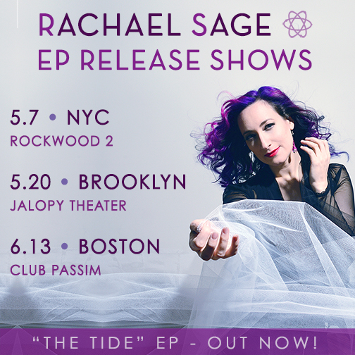 Rachael Sage EP Release Shows