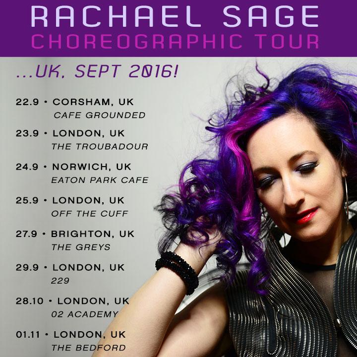 September 2016 UK Tour